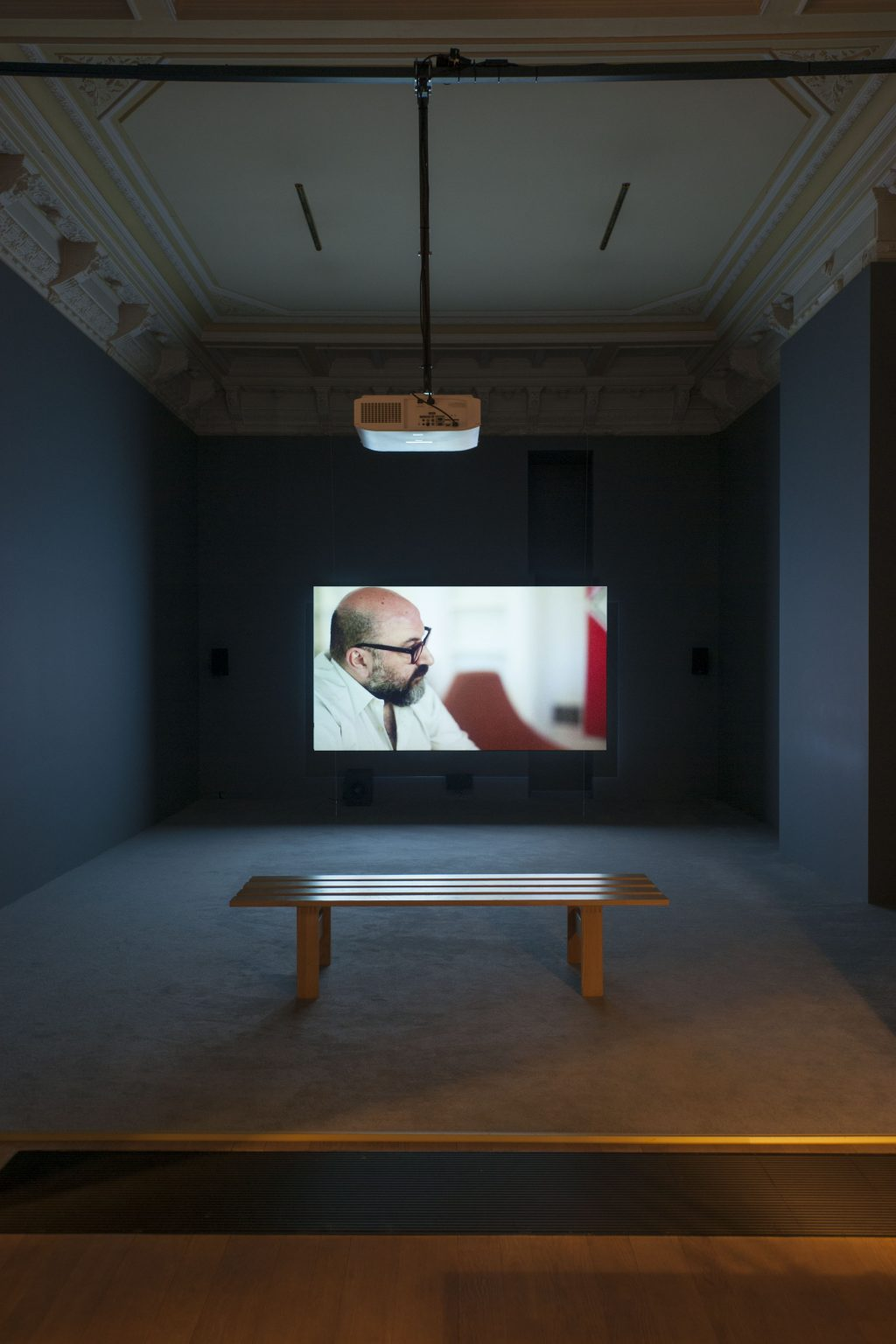 Pierre Bismuth - installation view at Jan Mot, 2015