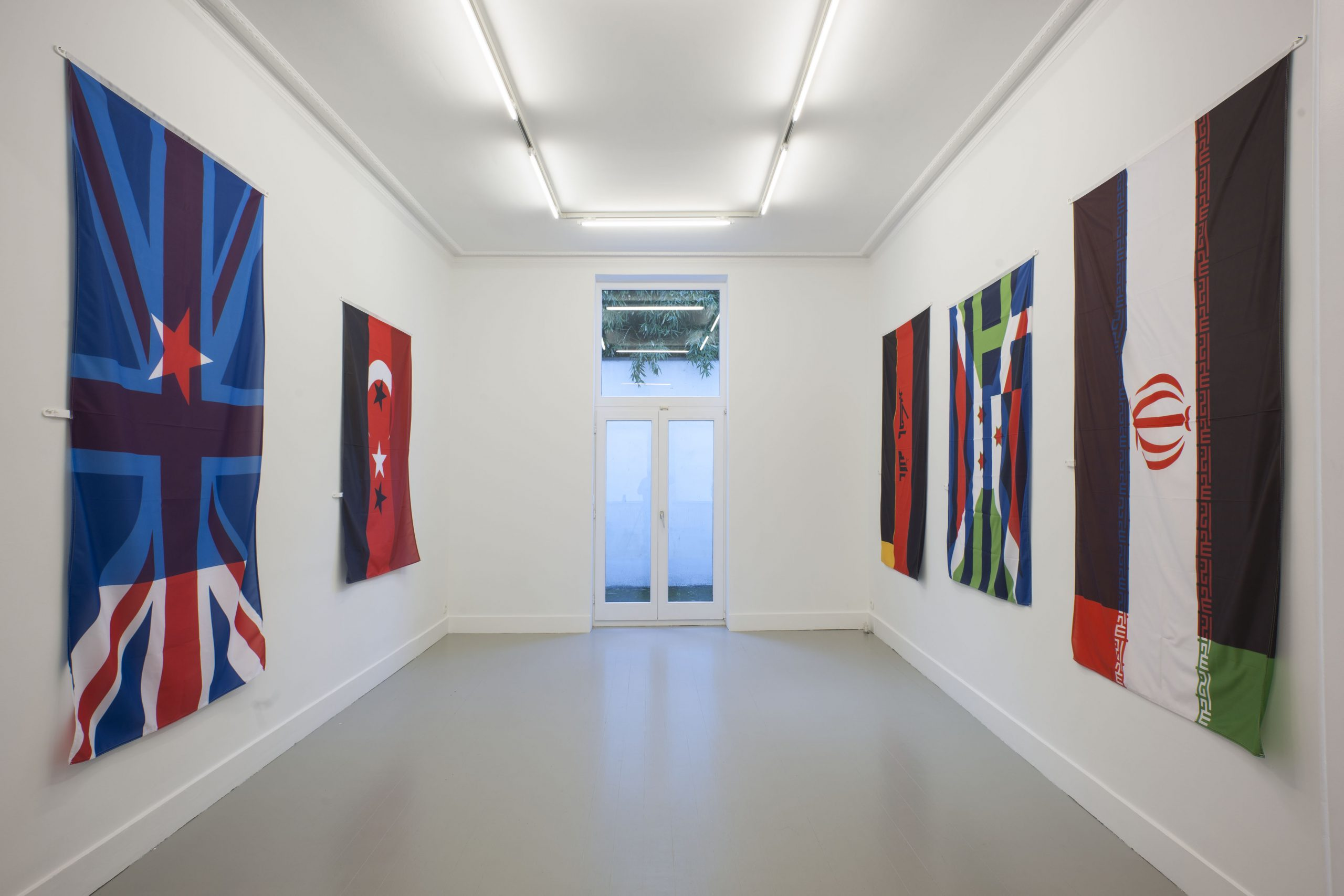 Pierre Bismuth, installation view at Jan Mot, 2019