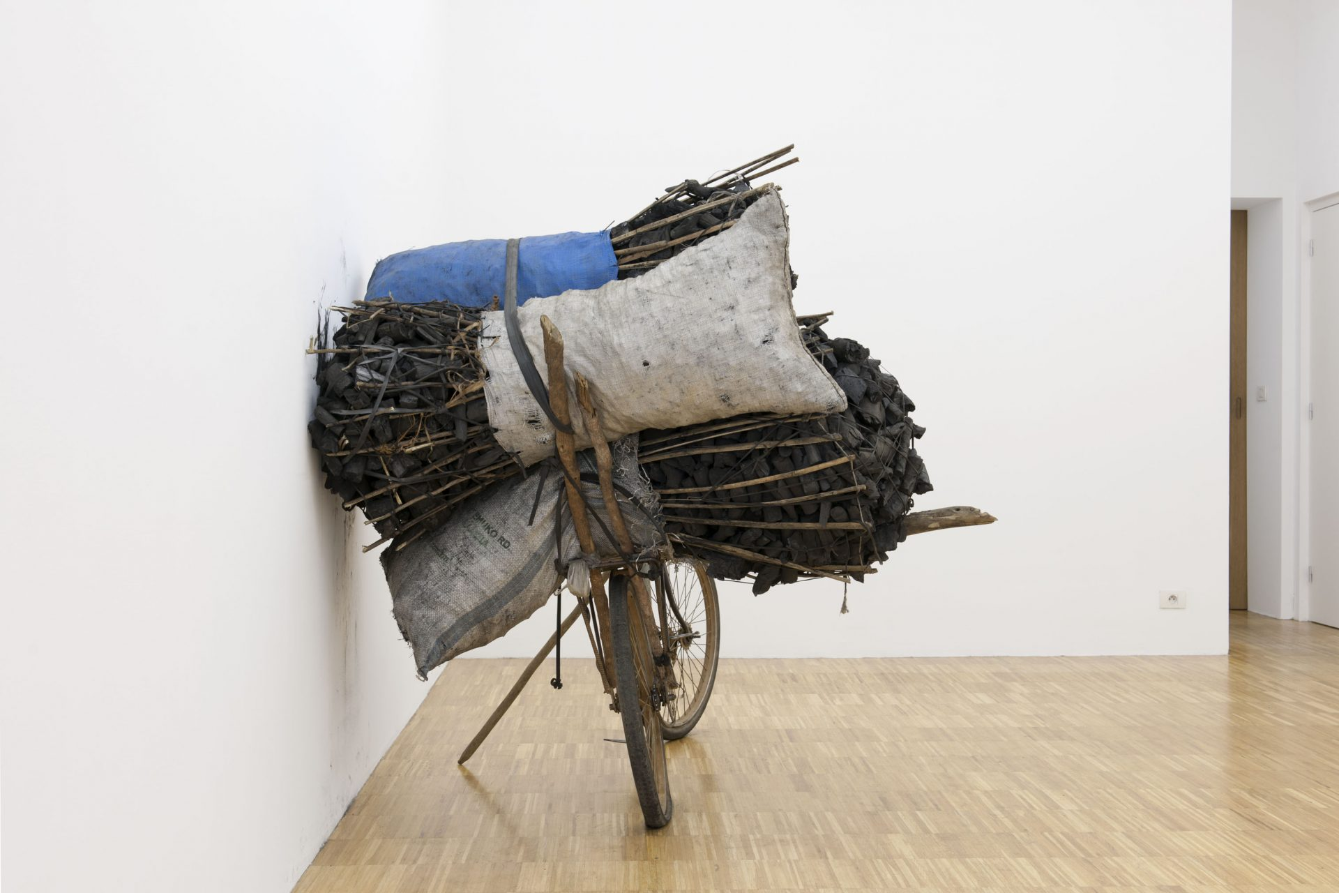 Sven Augustijnen - Installation view at Jan Mot, 2012
