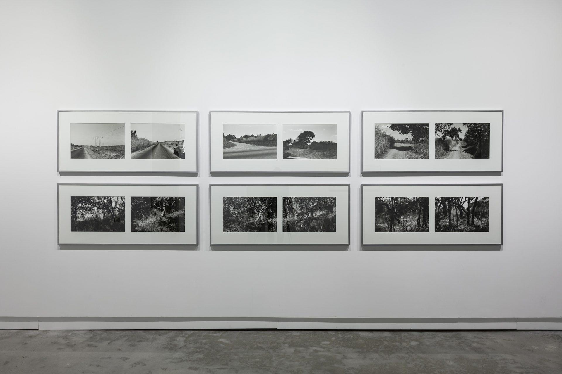 Sven Augustijnen, Spectres, installation view at VOX, Montreal, 2013