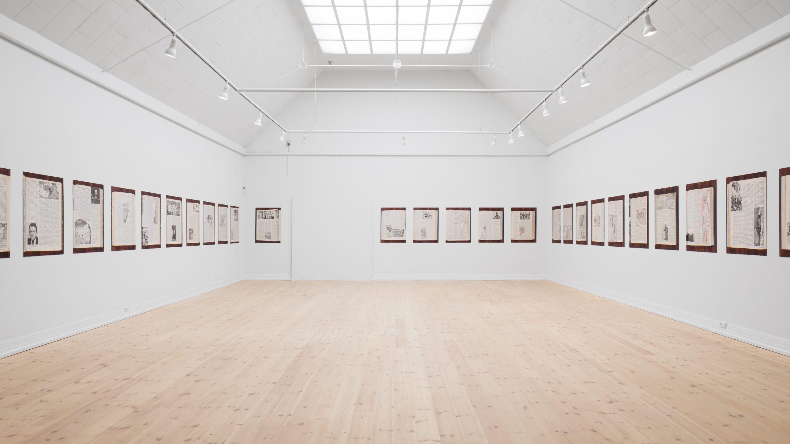 installation view Sven Augustijnen at Kunsthal Aarhus, 2020