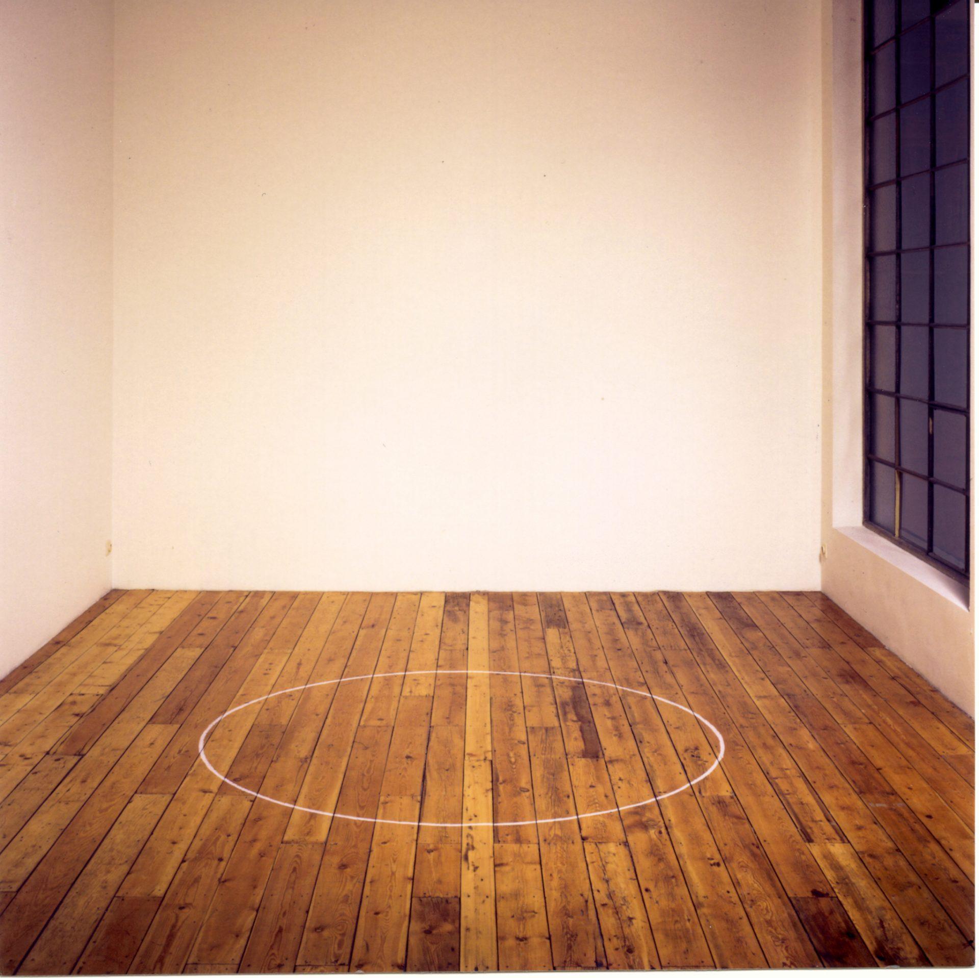 Ian WIlson, installation view 1998, galerie Mot & Vandenbogaard